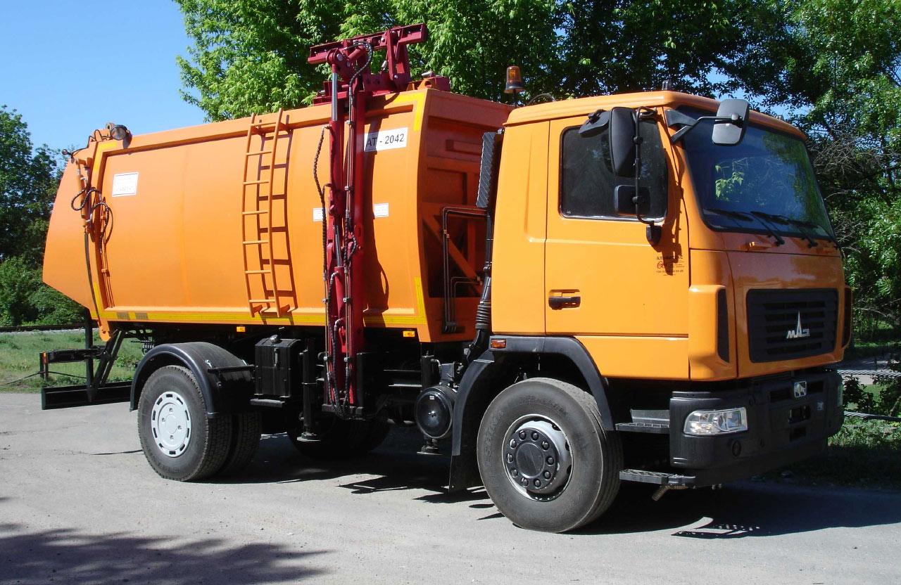 фото машины мусоровоза